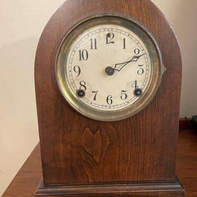 Antique Eight Day Hour Strike Clock