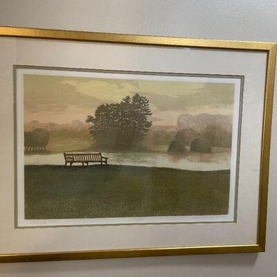 Hatfield Forest Signed Print