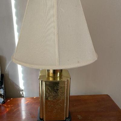 Table Top Brass Lamp