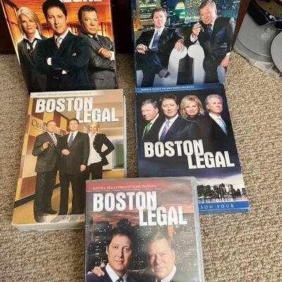Boston Legal on DVD
