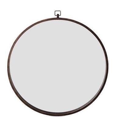 Quinn Wall Mirror- Antique Bronze Frame