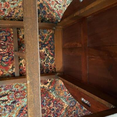 Vintage Mahogany Butler's tray