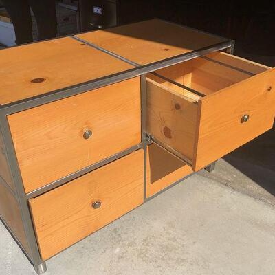 Wooden Filing Cabinet or Dresser