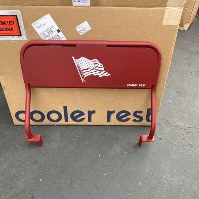 NEW- Yeti Cooler Rest - Red Flag