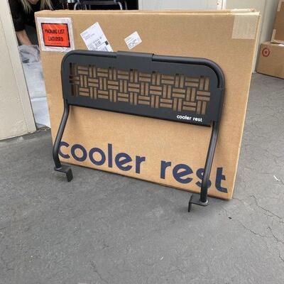 NEW-YEti Cooler Rest - Black Weave