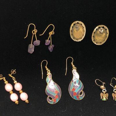 Lot 24 - Mixed Lot of Earrings for Pierced Ears