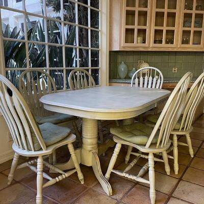 Rustic Kitchen Table (6 Chairs)