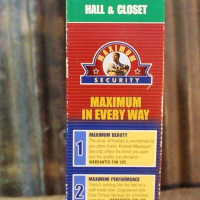 Kwikset Maximum Security Tungsten Door Handle 92007 - QTY 5
