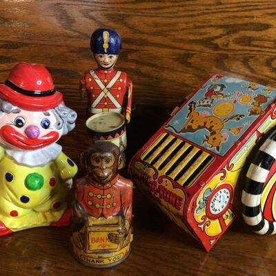 Lot 103:  J. Chein Tin Toys and More