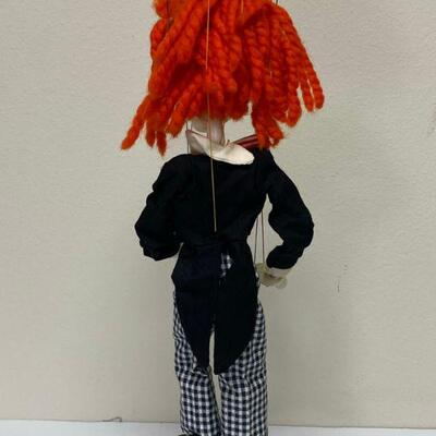Vintage Bimbo The Clown Marionette Pelham Puppets England YD#020-1220-00130