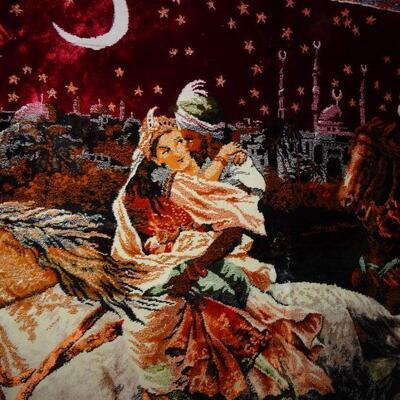 Tapestry - Knights of Arabia 6' x 3 3/4'