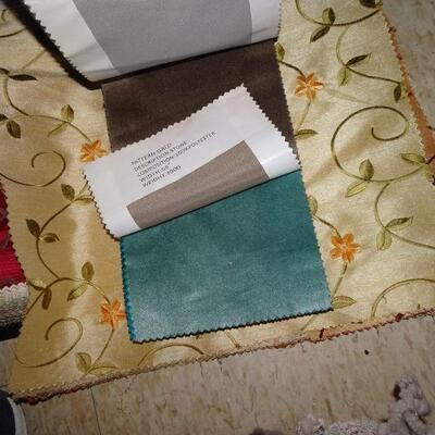 Vintage Fabric Sample Booklets 8 booklets