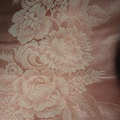 Beautiful Rose Pink  Table Cloth - Mauve Pink Color 90