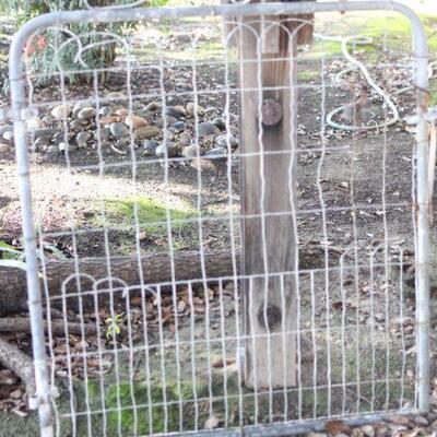 Lot 2 Vintage Garden Gate Salvage