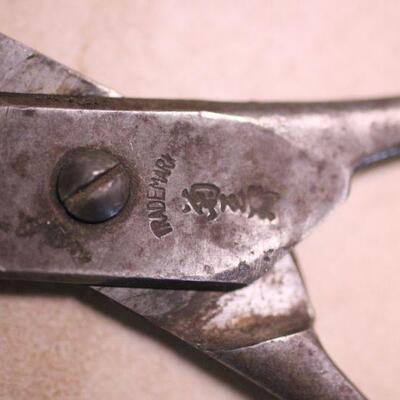 Lot 4 Vintage Scissors/Shears Crown No1 Marking