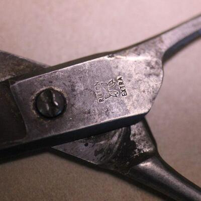 Lot 5 Vintage Scissors/Shears Ribbon Extra No800 Marking