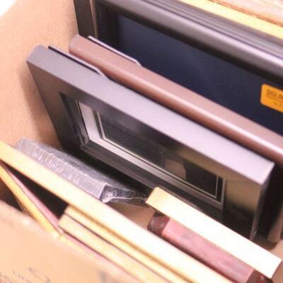 Lot 6 Huge Lot of Frames w/ Photo Albums