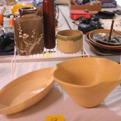 Lot 9 Ikebana Vases 5pcs. #1