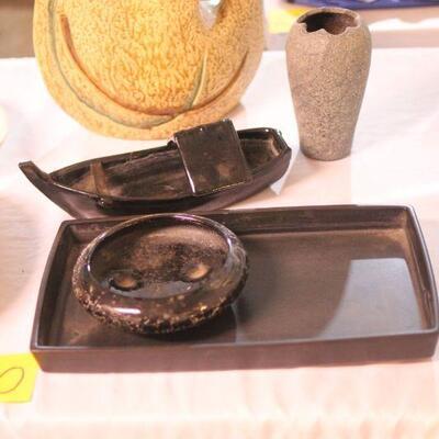 Lot 10 Ikebana Vases 5pcs. #2
