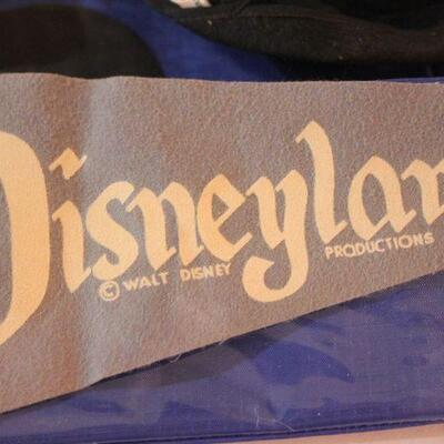 Lot 12 Vintage Disneyland Pennant, Mouseketeer Cap, & More