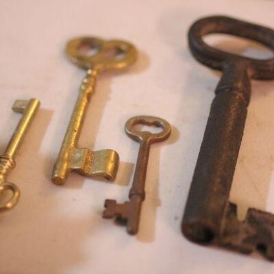 Lot 15 Skeleton Keys