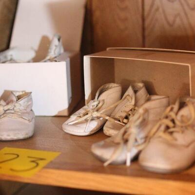 Lot 23 Vintage Children's Shoes