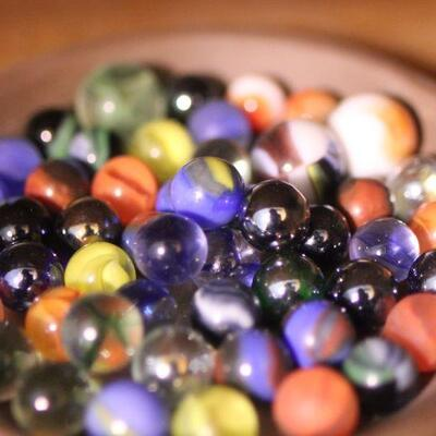 Lot 24 Marbles