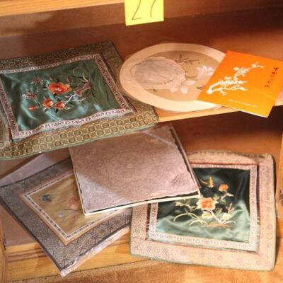 Lot 27 Silk Collectible Art