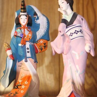 Lot 30 Japanese Geishas Collectible Ceramic Figurines