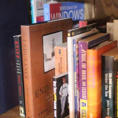 Lot 31 Entire Shelf of Books