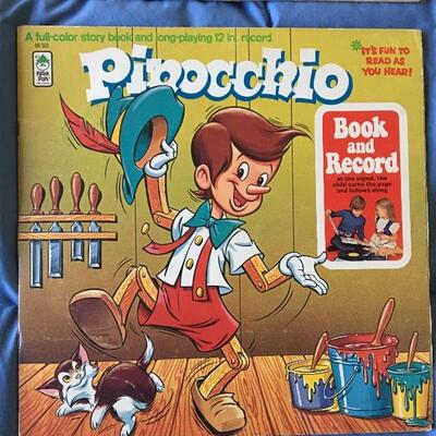 Vintage LP Record Album Collection of 10 with Disney, Alvin Chipmunks and more...