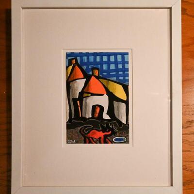 Houses by Gerard Sendrey