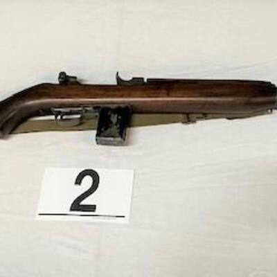 LOT#2: M1 Carbine by Saginaw Steering (Scout Rifle)