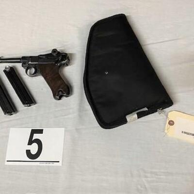 LOT#5: Mauser 1942 P.08 Luger 9mm S42