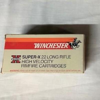 LOT#7: Winchester Super X 22LR