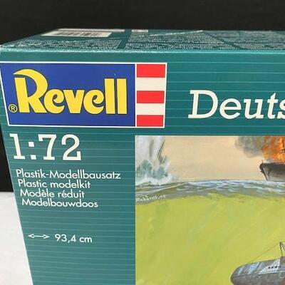 LOT#14: Revell 1:72 Deutsches U/Boat German Submarine