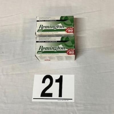 LOT#21: Remington .223 Ammo