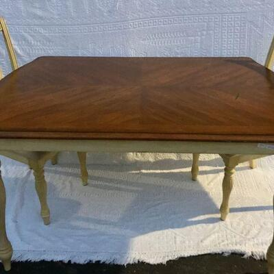 Farmhouse French Country Style Dining Table with 2 Chairs YD#020-1220-00026