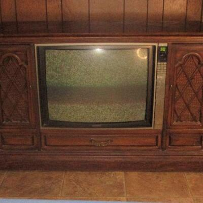 Lot 3 - Vintage Console TV LOCAL PICK UP ONLY