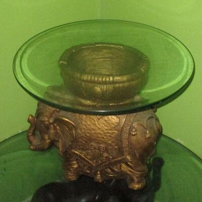 Lot 10 - Elephant Side Table LOCAL PICK UP ONLY