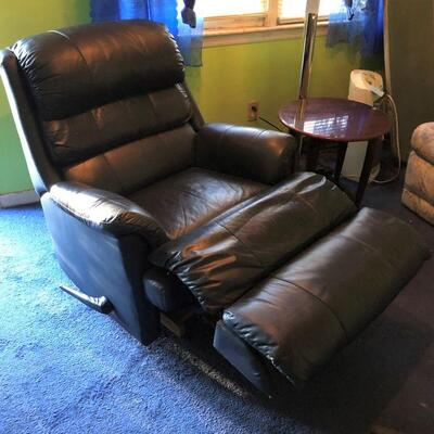Lot 12 - Faux Leather Rocker Recliner LOCAL PICK UP ONLY