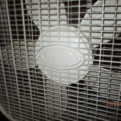 Lot 15 - Lasko Box Fan LOCAL PICK UP ONLY