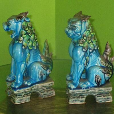 Lot 23 - Andrea by Sadek Foo Dogs