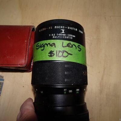 Misc. Camera & Cast & Lens