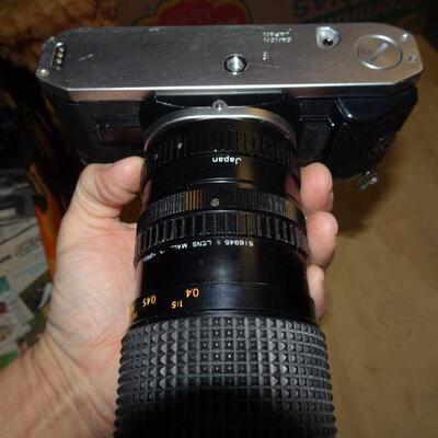 Vintage Cannon AE-1 Camera