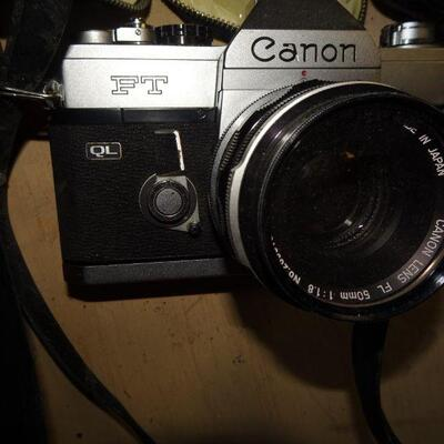 Canon Camera & Misc Lens & Filters