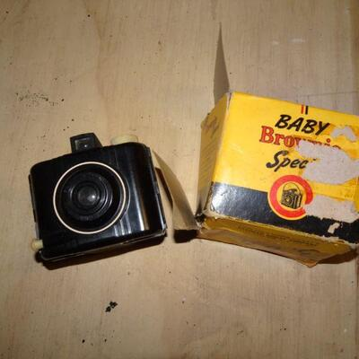 Vintage Baby Brownie Camera