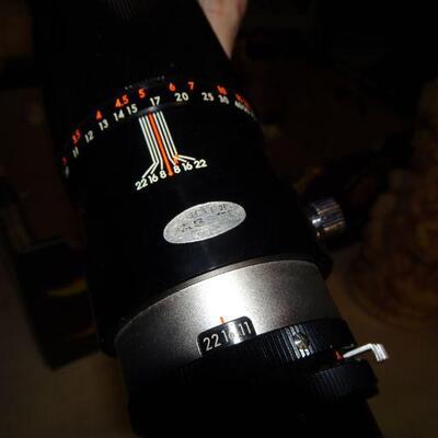 Vintage Camera Zoom Lens