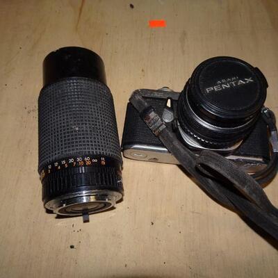 Pentax Camera & Zoom Lens