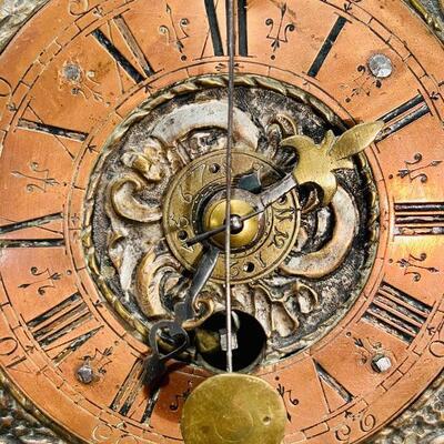 Lot 184: Pre-1700 Antique Alarm Clock in Cloche